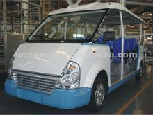 Gasoline Sightseeing Car 8-14seats