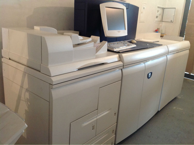 Digital Printer Xerox Nuvera 120