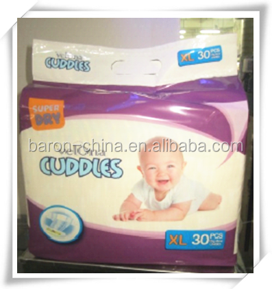 with magic tape and elastic waistband disposable type baby and child diapers