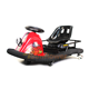 CE european outdoor playground kids adults commercial electric pedal go kart