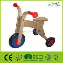 Safety Kids Wood Tricycle Toys for Training Education