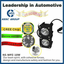 Automobile 10W Heavy Duty Off Road LED Work frosted Lens LED Driving Flood Light for ATV, UTV, SUV, Jeep, Truck, Tractor, Boat