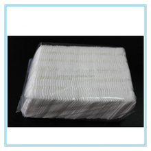 China Manufacturer Custom Side Sealed Cosmetic Remover Cotton Pad OEM Square Organic Makeup Cleansing