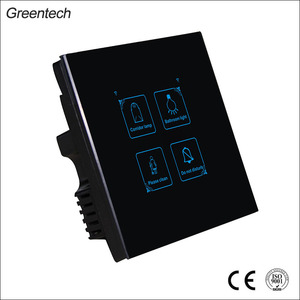 Newest Intelligent Fashionable Touch Sensor Hotel Energy Saving Smart Electric Switch
