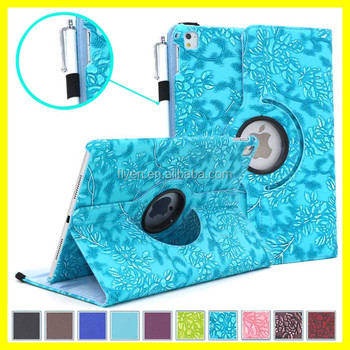 Rotating Case with Auto Sleep for iPad Pro Smart Cover Cases for Apple iPad Tablets