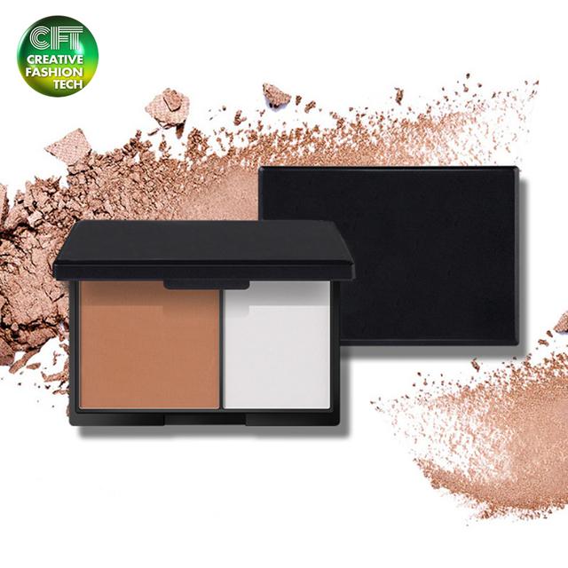 Skin whitening organic private label makeup powder foundation