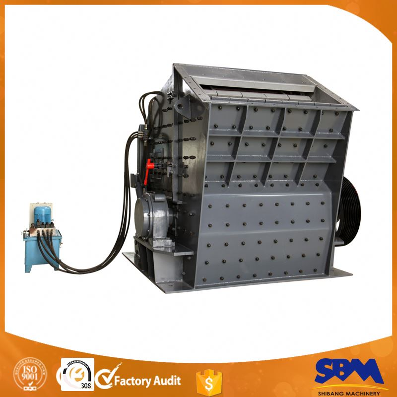 SBM Low Price High Crushing Ratio Gold Mine Processing Equipment
