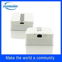 with WAN/LAN port design 150mbps portable 3g wireless router & power bank