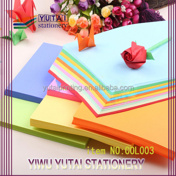 A4 construction paper for kids crafts/ construction paper wholesale