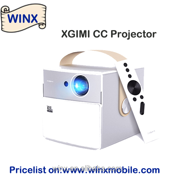 XGIMI CC 3D Portable Projector Andriod 1200 lumen Blutooth4.0 Full HD 1080P 4K Built-in 20000 mAh Battery Home Theater on Winx