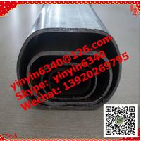 Wholesale Cheap Discount flat oval steel pipe tubes