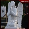 High Polished Marble Carving Tombstone Headstone