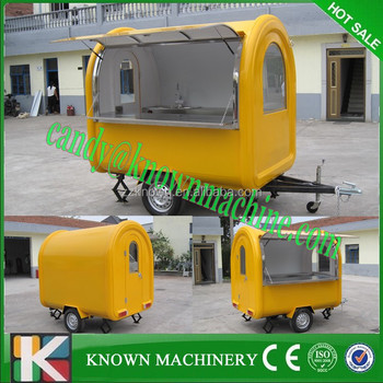 mobile food carts for sale with stainless steel workbench