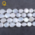 wholesale 19-20mm coin pearl white freshwater strand