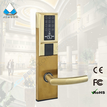 electronic residential apartment password door lock touch screen pincode lock