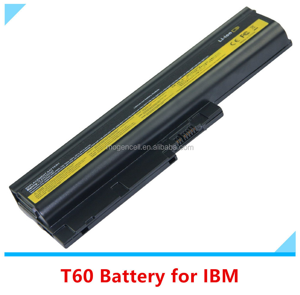 Replacement Battery For Lenovo For Thinkpad R60 R60E R61 R61E T60 T60P T61 T61P Sl500 R500,T61 Laptop Battery