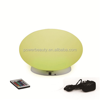 garden floating round led outdoor swimming pool solar flat ball light