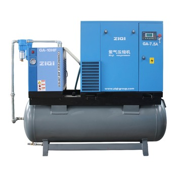 Hot Selling Compact Mounted Screw Air Compressor for Sale