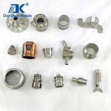 customized stainless steel precision casting with machining