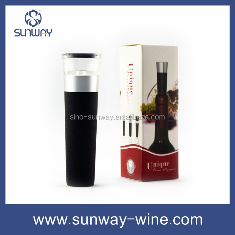 silicone wine bottle stopper,vacuum wine stopper,vacuum pump stopper