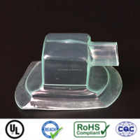 UL clear soft PVC electrical wiring connector covers