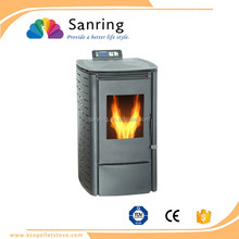 Wholesale 6 KW portable wood pellet stove,biomass wood fireplace