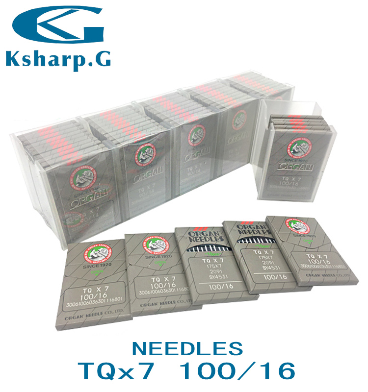 Industrial Sewing Machine Parts Sewing Needles TQX7 Japan Organ Needle for Button Sewing Machine Use