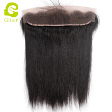 Top Quality Peruvian Human Virgin Hair fast shipping ear to ear lace frontal natural color deep straight wave hair extension
