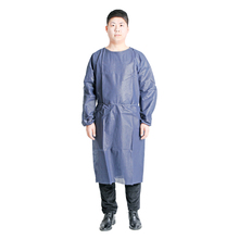 Disposable hospital non-woven surgical gown