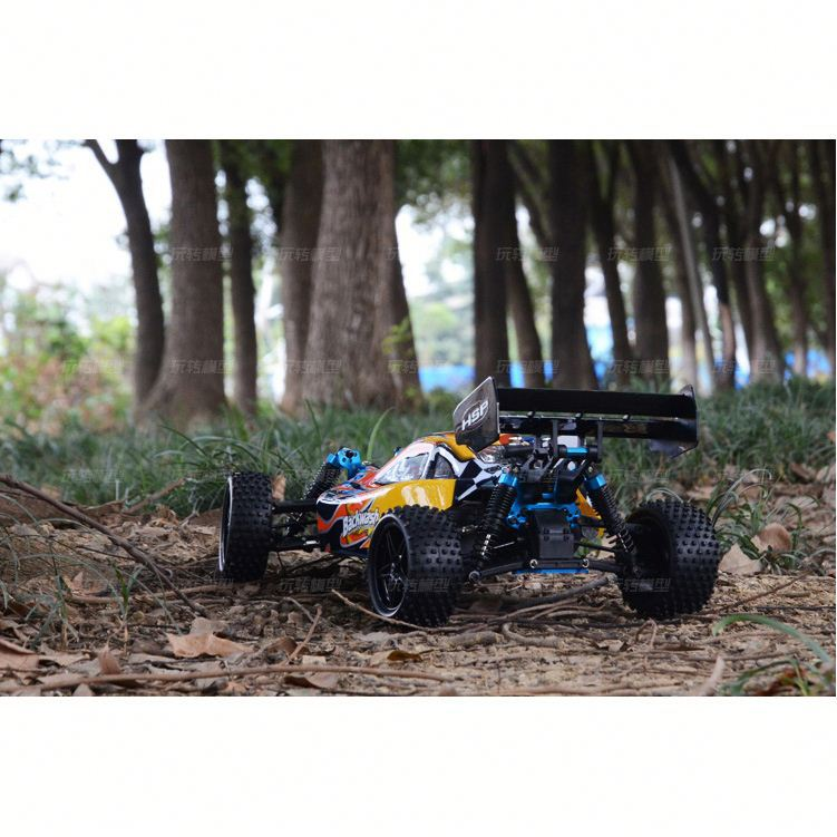 Two Speed Spirit N2 1/10 Scale Nitro Off-Road RC Buggy Car