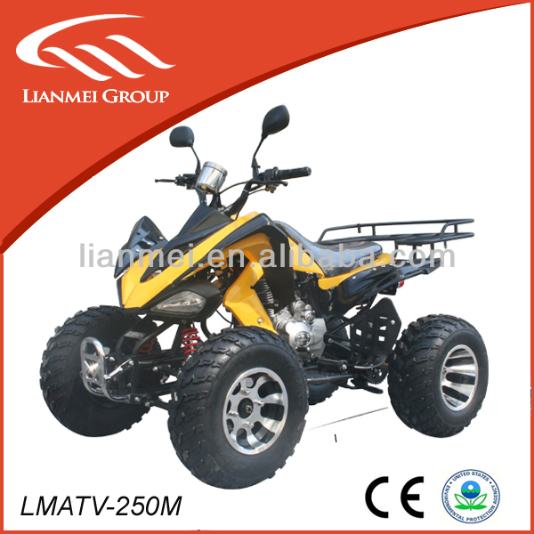 CE china atv 250 cc with alloy rim