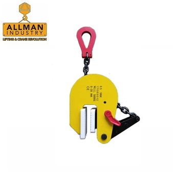 ALLMAN Vertical type Stainless Steel Sheet Lifting Non-Marking Lifting Clamp
