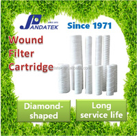 Acrylic Cartridge With Pp Core High Quality Wound Filter Cartridge