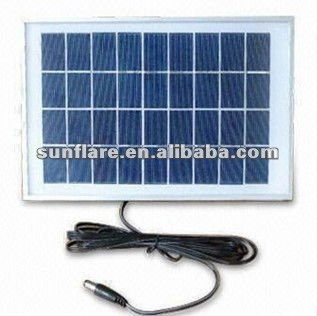 20W small power solar panel with cable