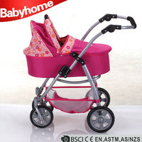 wholesale baby strollers toy doll stroller with big wheels Baby Doll Pram Stroller