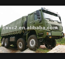 Howo 8x8 military truck/vehicle for special use