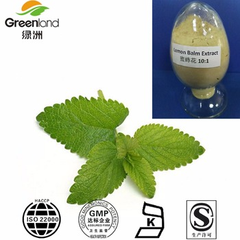 Herbal Lemon Balm Extract 1% 3% Rosmarinic Acid Melissa Extract With Our Own Factory