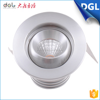 zhongshan light fixture of ceiling downlight led mini round or square 3W led down lamp for the house