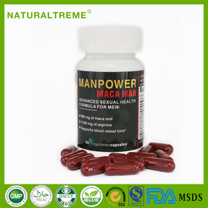 Male Sexual Enhancement & Power Maca Strong Man Capsule