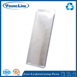 Cheap price colors pencil pvc plastic packaging boxes