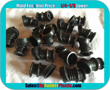 Compression Molded NBR Rubber Product / Oil Resistance NBR Component / High Quality Moulded NBR Rubber Parts