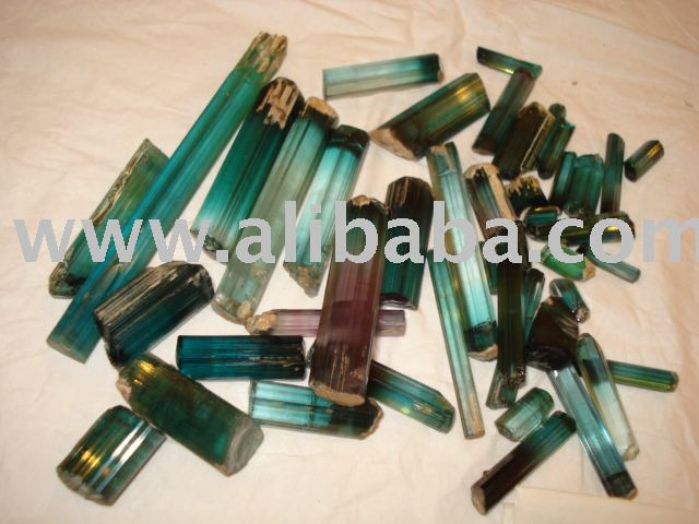 Blue Tourmaline Rough