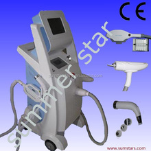 IPL hair removal beauty salon equipment,rf winkle removal beauty salon equipment,nd yag laser tattoo removal beauty equipment