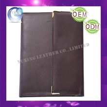 leather trifold padfolio hanging file folder