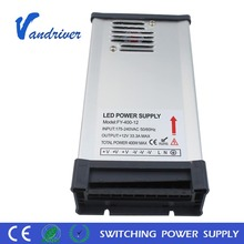 Waterproof CE ROHS LED Driver Rainproof 400W 12V 24V Constant Voltage LED Power Supply