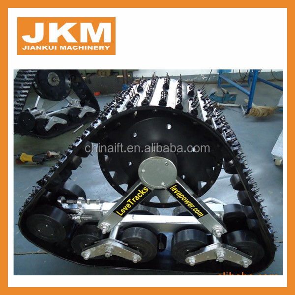 rubber tracks for trucks 1095mm*725mm in stock for sale