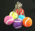 "mini 1.75"" Tennis ball keychain bulk"
