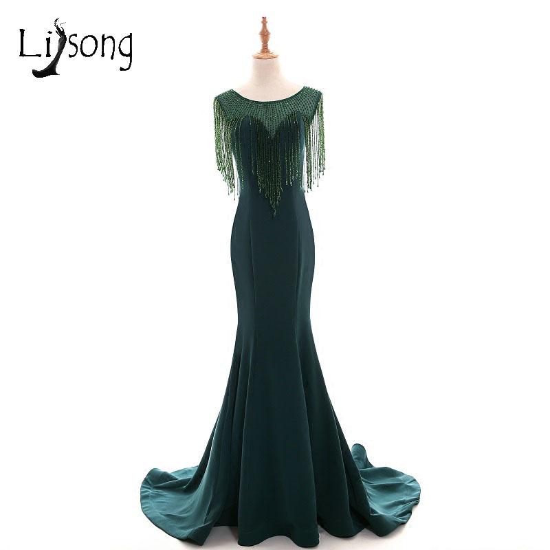 Detail Feedback Questions about Abiye Emerald Green Mermaid Long ... b97a012c5f4b