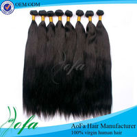 wholesale 100% 5A grade human remy virgin malaysia hair extension