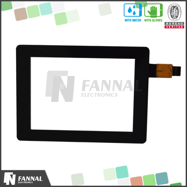3.5 capacitive touch screen with 800x480 resolution